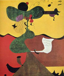 Portrait of Mrs Mills Joan Miro