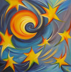 luna e stelle danzanti