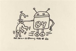 keith-haring-the-robot